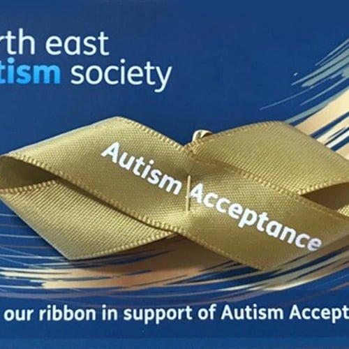 Embrace ASD   Reclaiming blue for autism   image GoldRibbon