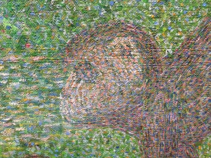 Embrace Autism | Autism, myopia & high IQ | painting LaGrandeJatte detail