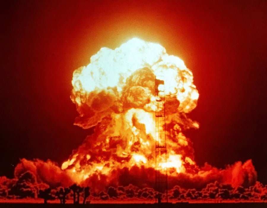 A photo of a nuclear explosion, symbolizing autistic meltdowns.
